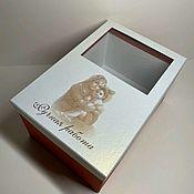 Статуэтка ручной работы. Ярмарка Мастеров - ручная работа Подарочная коробка. Handmade.