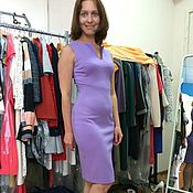 Одежда ручной работы. Ярмарка Мастеров - ручная работа 334:Платье футляр без рукавов, облегающее платье футляр. Handmade.