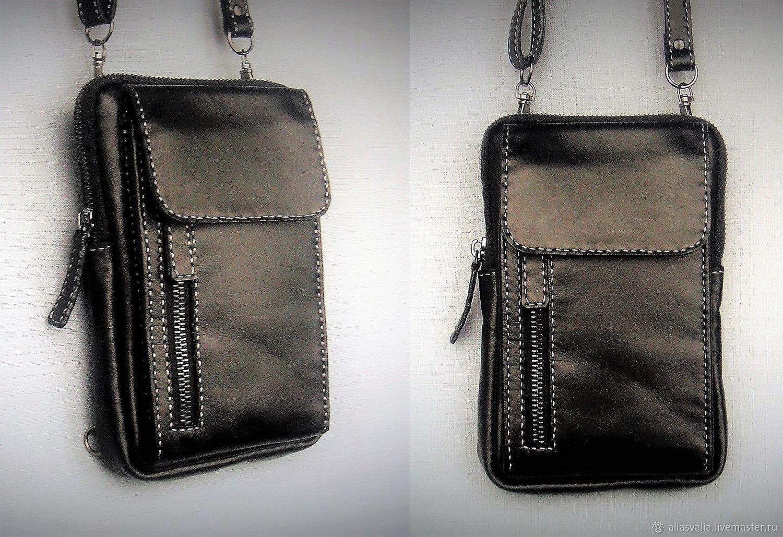 Bag M0102. Leather. Handmade. Alia Svalia, Classic Bag, Kaliningrad,  Фото №1