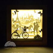 Для дома и интерьера handmade. Livemaster - original item Lamp-night light