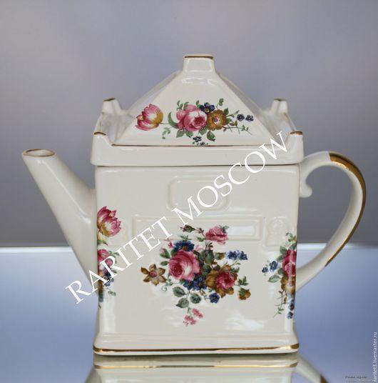 Винтажная посуда. Ярмарка Мастеров - ручная работа. Купить Чайник фарфор золото Royal Albert  Англия 19. Handmade. Комбинированный