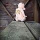 Мишки Тедди ручной работы. Ярмарка Мастеров - ручная работа. Купить Одинокий ангел. Handmade. Кремовый, старенький мишка