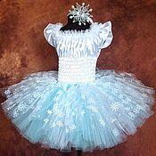 Одежда ручной работы. Ярмарка Мастеров - ручная работа Снежинка- балеринка. Handmade.