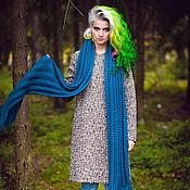 Аксессуары handmade. Livemaster - original item scarf SEA WAVE. Handmade.