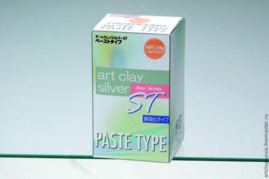 Для украшений ручной работы. Ярмарка Мастеров - ручная работа. Купить Серебряная паста Art Clay Silver Slow Tarnish 10g. Handmade.