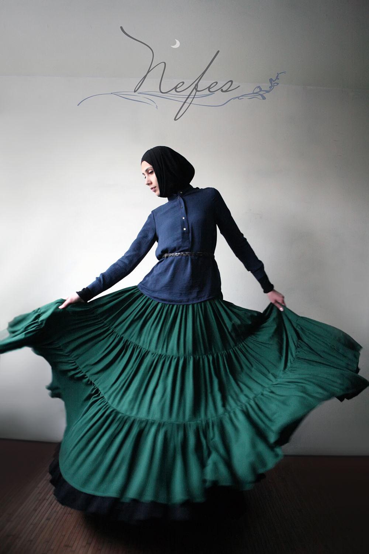 """Юбки ручной работы. Ярмарка Мастеров - ручная работа. Купить Юбка """"Тамам"""". Handmade. Юбка, длинная юбка, мусульманская одежда"""