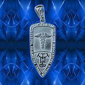 Фен-шуй и эзотерика handmade. Livemaster - original item Talisman Healing shield Caduceus. Handmade.