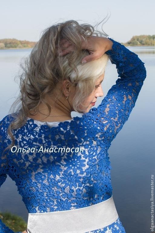 """Платья ручной работы. Ярмарка Мастеров - ручная работа. Купить Ирландское кружево Платье """"Ирина"""",авторская работа. Handmade."""