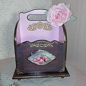 Для дома и интерьера handmade. Livemaster - original item Box for spices or female stuff
