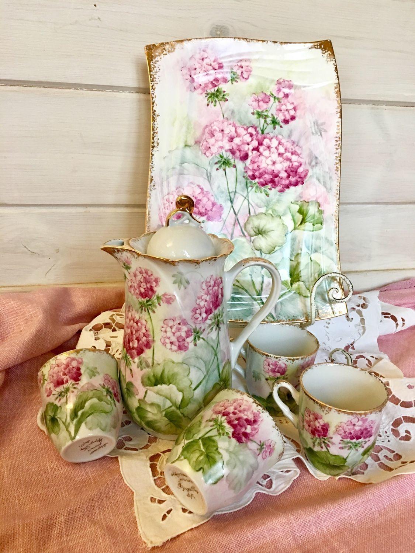 Painted porcelain. Set ' Amulet', Tea & Coffee Sets, Kaluga,  Фото №1