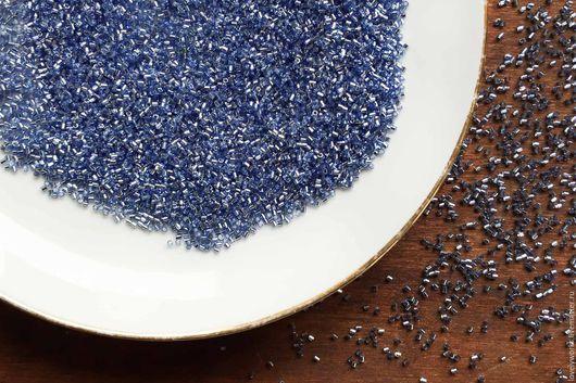 Для украшений ручной работы. Ярмарка Мастеров - ручная работа. Купить Бисер Miyuki Delica15/0, японский бисер, голубой, бисер миюки. Handmade.