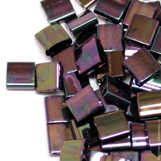 Для украшений ручной работы. Ярмарка Мастеров - ручная работа. Купить TILA Miyuki Purple Iris (454) Миюки Тила темная бронза 5 гр.. Handmade.