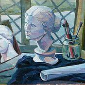 """Картины и панно ручной работы. Ярмарка Мастеров - ручная работа Картина """"Муза"""". Handmade."""