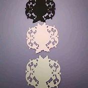 Вырубки для скрапбукинга ручной работы. Ярмарка Мастеров - ручная работа А-002 Набор для скрапбукинга из трех элементов. Handmade.