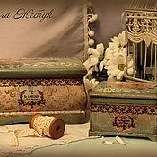 Для дома и интерьера handmade. Livemaster - original item Set of boxes