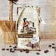 Подарочная упаковка ручной работы. Ярмарка Мастеров - ручная работа. Купить Подарочная  упаковка для кофе. Handmade. Кофе, кофейный подарок