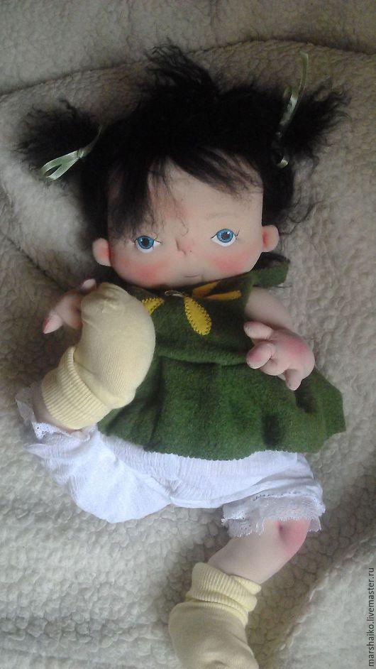 Коллекционные куклы ручной работы. Ярмарка Мастеров - ручная работа. Купить текстильный пупс. Handmade. Текстильная кукла, игрушка для ребенка