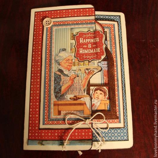 Открытки на все случаи жизни ручной работы. Ярмарка Мастеров - ручная работа. Купить Открытка Домашнее Счастье на 8 Марта. Handmade.