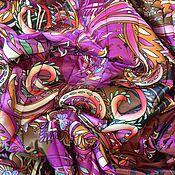 Материалы для творчества ручной работы. Ярмарка Мастеров - ручная работа Курточная ткань ETRO. Handmade.