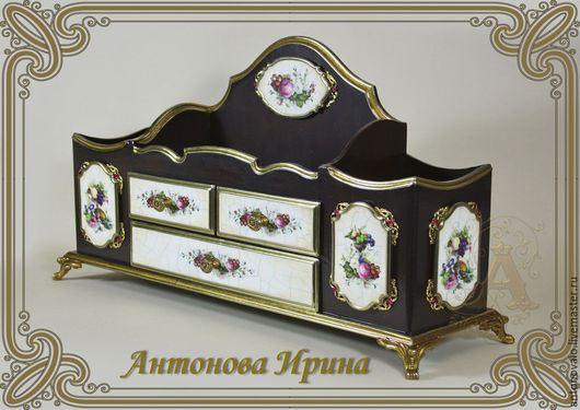 Бюро- `Эмалевый цвет`,для дома ручной работы.Антонова Ирина.Ярмарка Мастеров.