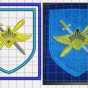 Дизайн и реклама ручной работы. Ярмарка Мастеров - ручная работа военные шевроны на заказ  дизайны машинной вышивки. Handmade.