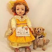 Куклы и пупсы ручной работы. Ярмарка Мастеров - ручная работа Коллекционная кукла  Гретхен, почти красная шапочка. Handmade.