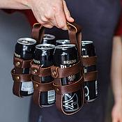 Сумки и аксессуары handmade. Livemaster - original item Carrying beer out of the skin
