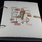Канцелярские товары ручной работы. Ярмарка Мастеров - ручная работа Блокнот рукодельницы. Handmade.