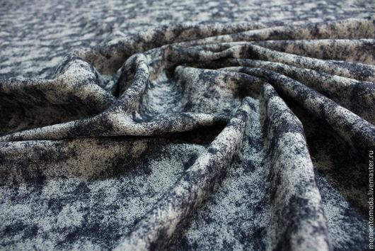 Шитье ручной работы. Ярмарка Мастеров - ручная работа. Купить Ткань костюмная. Handmade. Серый, шерсть, итальянские ткани