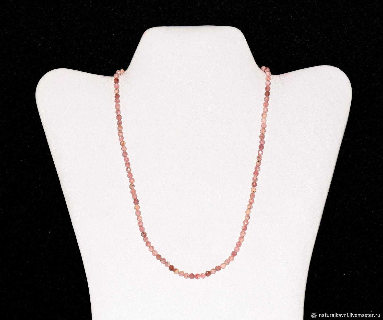 Beads of genuine rhodochrosite, Beads2, Moscow,  Фото №1