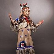 Работы для детей, ручной работы. Ярмарка Мастеров - ручная работа Дочь прерий (карнавальный костюм). Handmade.