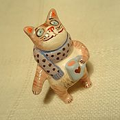 Для дома и интерьера handmade. Livemaster - original item Ceramic Cat. The theme: