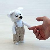 Куклы и игрушки handmade. Livemaster - original item Crochet toy dog puppy Tim. Handmade.