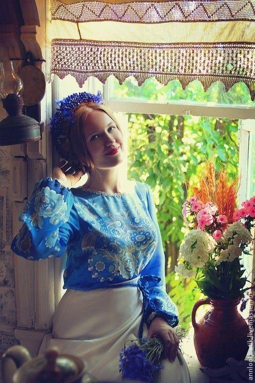 В гостях у сказки. Батик платье, Платья, Иваново,  Фото №1
