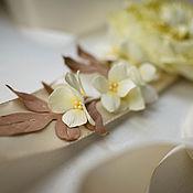 Свадебный салон ручной работы. Ярмарка Мастеров - ручная работа Свадебный пояс с розой Девида Остина. Handmade.