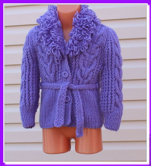 Одежда для девочек, ручной работы. Ярмарка Мастеров - ручная работа. Купить кофточка для девочки курточка вязаная. Handmade. Курточка