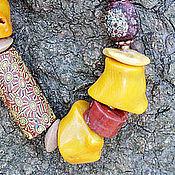 Украшения ручной работы. Ярмарка Мастеров - ручная работа Ожерелье Солнечная сторона. Handmade.