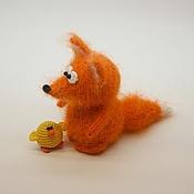 Куклы и игрушки ручной работы. Ярмарка Мастеров - ручная работа Рыжий лис. Handmade.