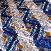 Для дома и интерьера ручной работы. Ярмарка Мастеров - ручная работа Лоскутное одеяло Звёздная пыль. Handmade.