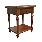 Для дома и интерьера ручной работы. Ярмарка Мастеров - ручная работа Прикроватный столик Прикроватная тумбочка из дерева под старину. Handmade.