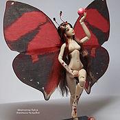 Куклы и игрушки handmade. Livemaster - original item Mara, butterfly (12,5 cm). Handmade.