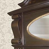 """Для дома и интерьера ручной работы. Ярмарка Мастеров - ручная работа Зеркало настенное деревянное ручной работы (02)  """"Старинное зеркало"""". Handmade."""