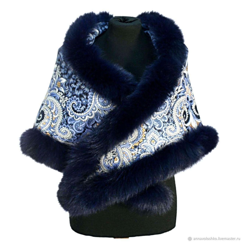 Pavlovo Posad shawl, Shawls1, Moscow,  Фото №1
