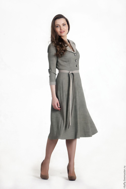 Платья шерстяные женские