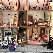 Кукольные домики ручной работы. Ярмарка Мастеров - ручная работа Винтажный кукольный домик (Франция). Handmade.