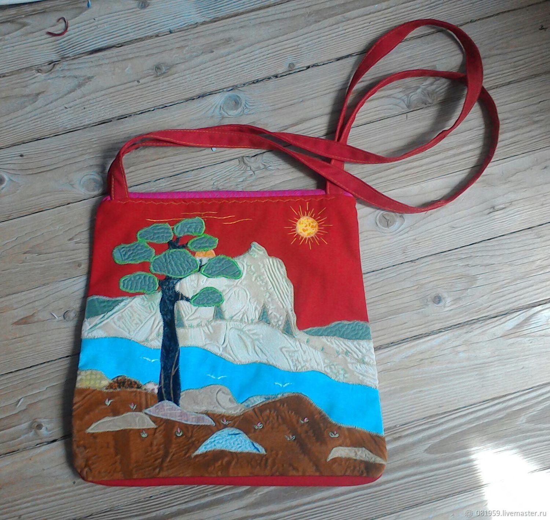 cde89270eb72 Женские сумки ручной работы. Ярмарка Мастеров - ручная работа. Купить  Сумочка 'Море и ...