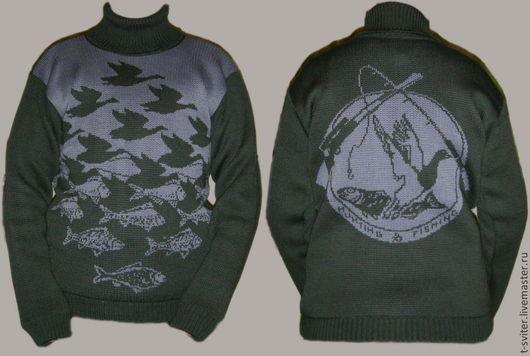 Тату-свитер - Рыбалка и охота