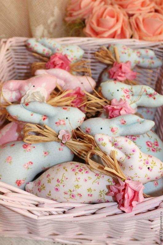 Куклы Тильды ручной работы. Ярмарка Мастеров - ручная работа. Купить Пасхальные кролики.. Handmade. Кролик, кролик ТИЛЬДА