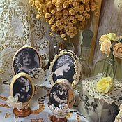 """Сувениры и подарки ручной работы. Ярмарка Мастеров - ручная работа Яйца """"Милые девчушки на старых фотографиях"""". Handmade."""
