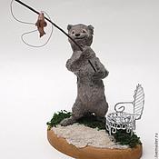 Куклы и игрушки ручной работы. Ярмарка Мастеров - ручная работа Ловись, рыбка!. Handmade.